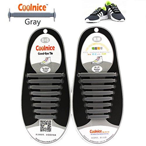 0e22c1a5ae Cordones planos de Coolnice infantiles y para adultos, impermeables y de.