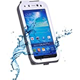 SMILEDRIVE® Extreme Rainproof Cover for Samsung S4 Transparent