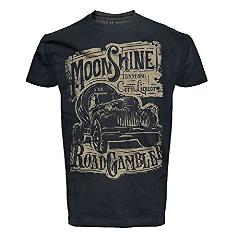 ROAD RODEO - T-shirt - Homme XXX-Small - noir -