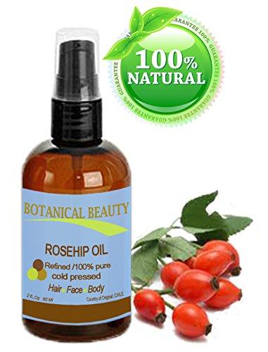 Huile de Rose Musquée 100% pure. Visage, corps et cheveux - 60 ml.