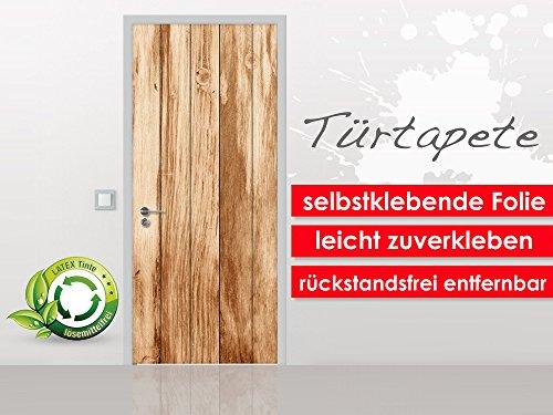 turtapete-teak-wood-im-format-90x210cm-selbstklebende-premium-folie-leicht-zu-verkleben-ohne-blasen-