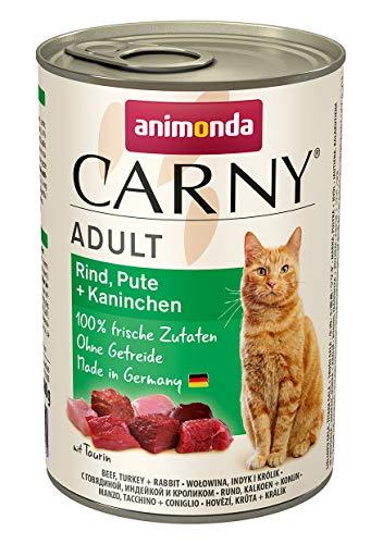 Animonda Katzenfutter Carny Adult Mix2 aus 4 Varietäten, 12er Pack (12 x 400 g) - 5