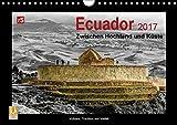 Ecuador 2017  Zwischen Hochland und Küste (Wandkalender 2017 DIN A4 quer): Ecuador - kleines Land mit vielen Facetten (Monatskalender, 14 Seiten ) (CALVENDO Orte) - Uwe Bergwitz