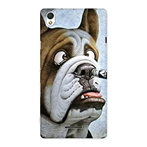 Gorgeous Big Face Dog Back Case Cover for Sony Xperia T3
