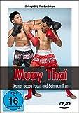 Muay Thai Konter gegen Faust- und Beintechniken