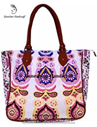 Hippie Tapestry Handmade Boho Hobo Tote Bags Hand Shoulder Bags Cotton Indian Mandala Bags For Women
