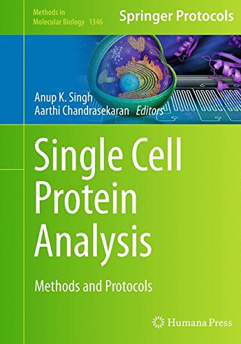 Single Cell Protein Analysis: Methods and Protocols (Methods in Molecular Biology, Band 1346)