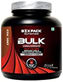 Six Pack Nutrition Bulk Weight Gainer (2Kg, Chocolate)