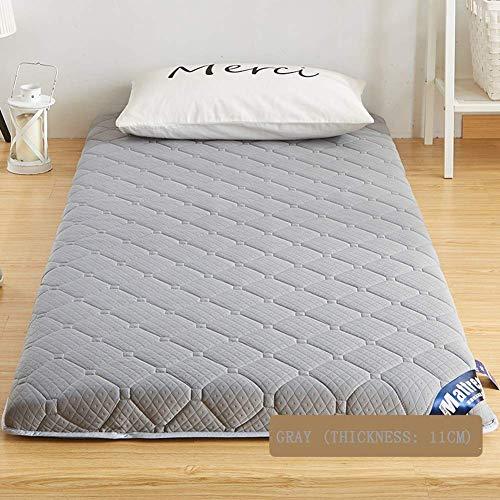Schlafmatte bequeme Matratze Faltbare Schlafmatratze, dicke japanische Futon-Tatami-Fußmatte zum Schlafen, Premium-Matratzenauflage für Studentenwohnheim, Home-White (6 cm), 150x200 cm (59x79 Zoll) - Premium-futon-matratze