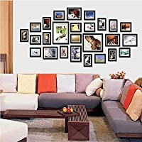 PF Frame Collection Nero Photo Wall Set di 26
