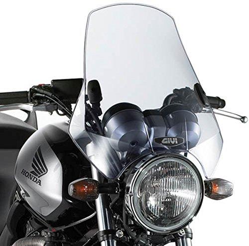 Givi A660Airstar parabrezza universale, colore: grigio fumo