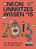 Unnützes Wissen 2015: Tages-Abreißkalender