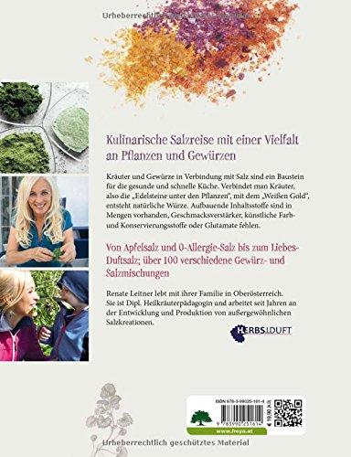 Kräutersalz: Edelsteine der Pflanzen & Weißes Gold -