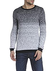 Jack & Jones Mens Cotton Cardigan (12121778_Black_X-Large)