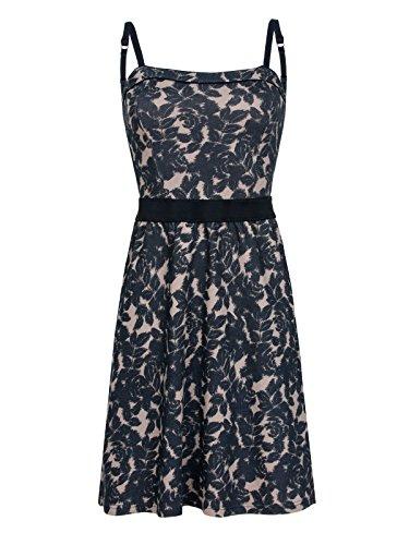 Vamp Kleid (Vive Maria My Summer Vamp Dress Creme/Navy, Größe:XS)