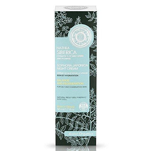 Natura siberica - Crema de noche para piel grasa o mixta