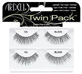 Ardell Twin Pack Lash 105, das Original, black, 1er Pack (1 x 2 Paar)