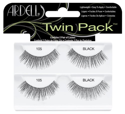 Ardell Twin Pack Lash 105, das Original, black, 1er Pack (1 x 2 Paar) - Ardell Natural