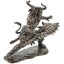 Un minotauro con hacha Bronce Figura mitología griega