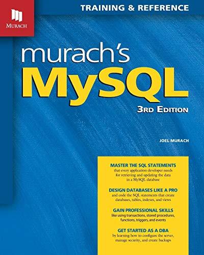 Murachs MySQL