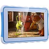Excelvan 711 - Tablet Infantil de 7 Pulgadas Android 4.4.4 para Niños (Rockchip3126 Quad Core 1.3Ghz, 512MB RAM, 8GB ROM, Dual Cámaras, Modo Adulto y Modo Infantil, WIFI Bluetooth), Azul