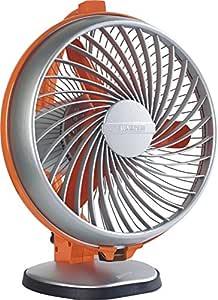 (Renewed) Luminous Buddy 230mm 55-Watt High Speed Personal Fan (Royal Orange)