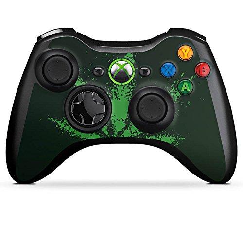 DeinDesign Microsoft Xbox 360 Controller Folie Skin Sticker aus Vinyl-Folie Aufkleber Blatt Leaf Gras (Xbox Grafik 360-controller)