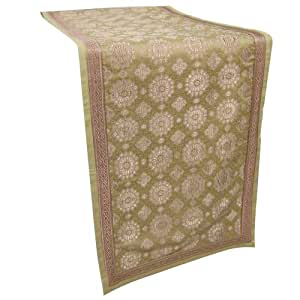 Dining Table Runner In Brocades Handmade Home Furnishings