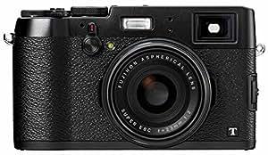 Fuji FinePix X100T Camera Black 16.3MP 3.0LCD FHD 23mm Wide Lens WiFi