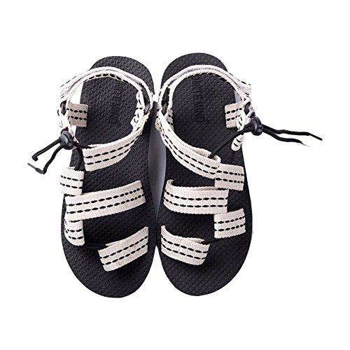 Herren Sandalen Waten Schuhe Sommer Mode Strand Schuhe White