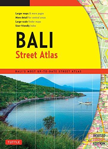 Bali Street Atlas por Periplus Editions