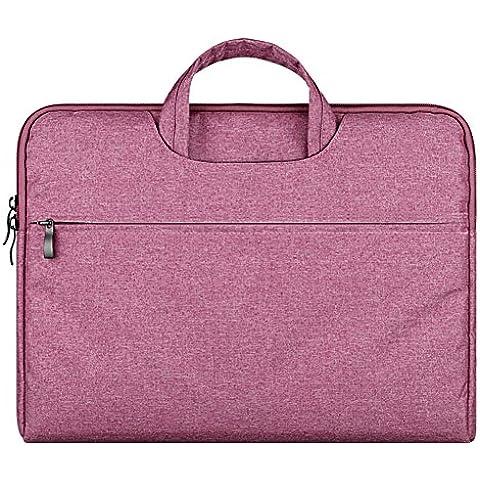 Funda para Portátiles / Agua-resistente Funda con Asa y Maletín Para Ordenador Portátil Notebook / Ultrabook Tablet de Maleta Bolsa de Transporte