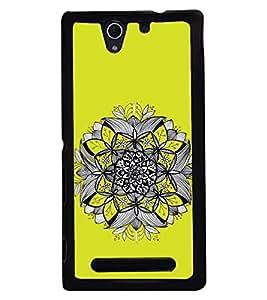 PRINTSWAG FLOWER Designer Back Cover Case for SONY XPERIA C3