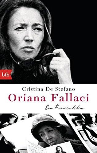 Buchseite und Rezensionen zu 'Oriana Fallaci: Ein Frauenleben' von Cristina De Stefano Literary Scouting