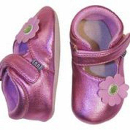 MELTON - chaussons bébé fleur rose Rose