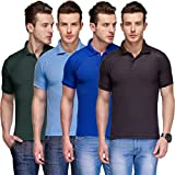 Tnx Soft Premium Cotton Tshirts for Men Combo Pack of 4