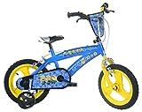 Dino Bikes 145xc-min bicicleta niño los Minions 14pulgadas–4A 6Años
