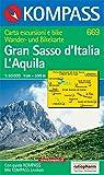 Kompass Karten, Gran Sasso d' Italia, L' Aquila (Carte de Randon, Band 669) - 669 KOMPASS