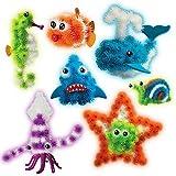 Bunchems Oceano Brillano nel Buio Mega Kit !! Colorati Bunchems - costruire tutto quello che vuoi! È possibile creare i vostri animali preferiti, le forme e le costruzioni! Con Bunchems l'unico limite è la vostra immaginazione! Strizzarli, e creare, ...