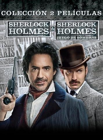Pack: Sherlock Holmes 1+2 (Import) (Dvd) (2012) Robert Downey Jr; Jude Law; Noom (Sherlock Holmes Films Robert Downey Jr)