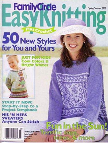 Family Circle facile Knitting - primavera/cicalino (Facile Primavera)