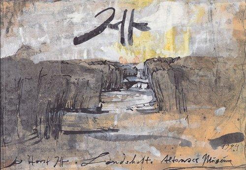 Landschaften 1984 - 1994. Ausstellungskatalog Altonaer Museum