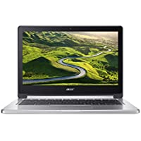 "Acer Chromebook CB5-312T-K6TF 2.1GHz M8173C 13.3"" 1920 x 1080Pixeles Pantalla táctil Negro, Plata - Ordenador portátil (Chromebook, Negro, Plata, Concha, M8173C, MediaTek, LPDDR3-SDRAM)"