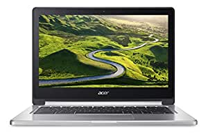 "Acer Chromebook CB5-312T Ordinateur 2-en-1 Tactile Full HD 13,3"" Gris (MediaTek Quad-Core, 4 Go de RAM, Mémoire 32 Go, Chrome OS)"