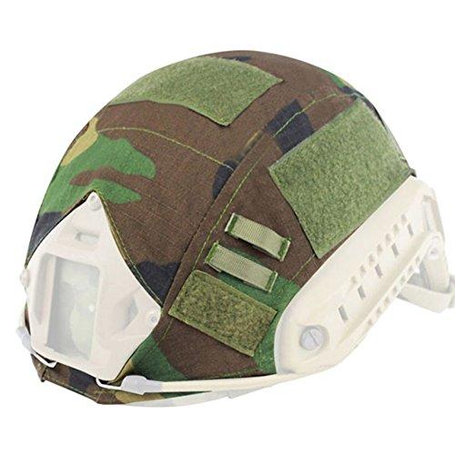 Zdmathe Taktische Camo Helmüberzug Helm Abdeckung Helmet Cover Softair Paintball Schießen Helm Zubehör ohne - Helm Airsoft Camo