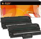 Cartridges Kingdom 2 Schwarz Toner kompatibel für Samsung ML-1500 ML-1510 ML-1515 ML-1520 ML-1710 ML-1720 ML-1740 ML-1745 ML-1750 Xerox 3130 3115 3116 3121 3210 PE16 Lexmark X215