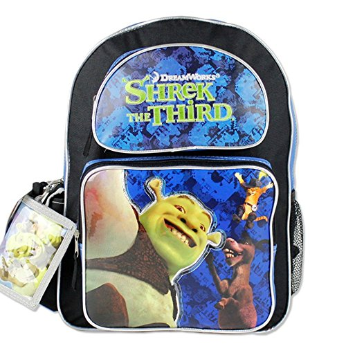 Rucksack–Shrek–Der 3. Film 40,6cm Schule Bag, New 057826 Shrek Rucksack