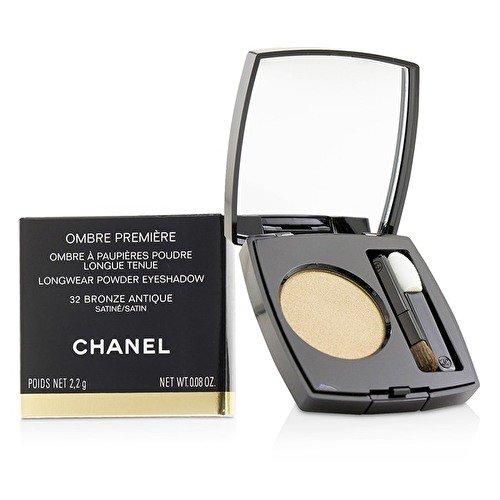 Chanel Ombre Première Longwear Powder Eyeshadow Pflege 32 Bronze Antique 2,2 g