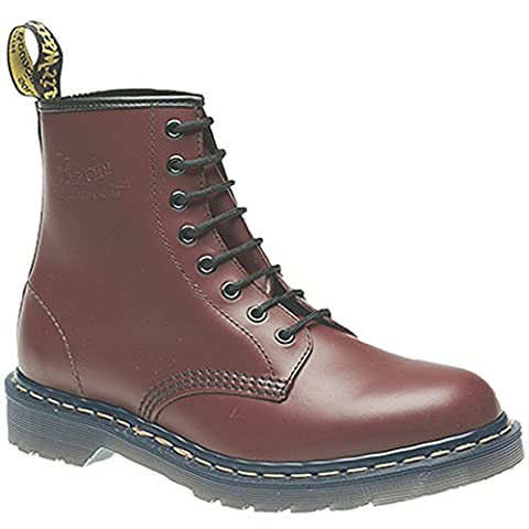 Dr. Martens Adult 1460z Classic Airwair 8 Eyelet Boots UK 3 Cherry Red Smooth