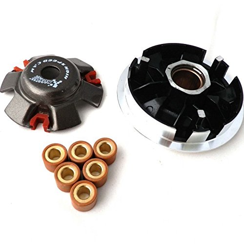 YunShuo Performance Variator Clutch w/ Rollers GY6 125 150 Scooter Moped 152QMI 157QMJ